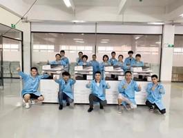 北京复印机租赁公司员工合影